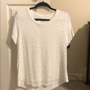 Women's Cute Lacey Tee